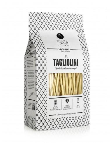 Tagliolini con Omega3 de origen vegetal